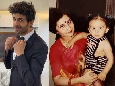 Kartik Aaryan wishes his mom with a sweet post