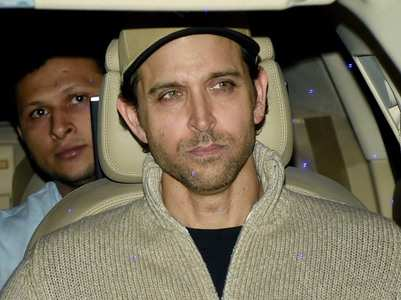 Hrithik describes his journey in two words!