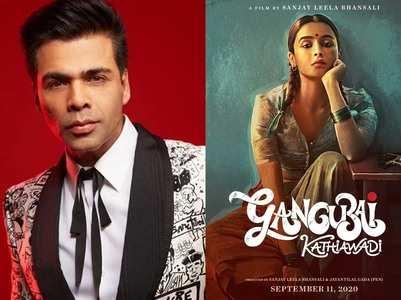 KJo is all praises Alia's 'Gangubai' posters