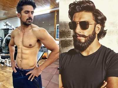 Saqib dedicates his shirtless pic to Ranveer