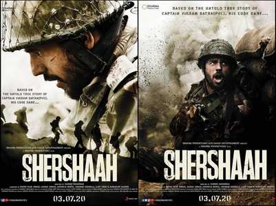 Shershaah: Makers unveil first look posters