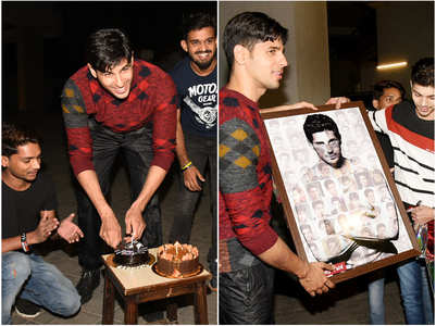 Pics: Sidharth celebrates b'day with fans