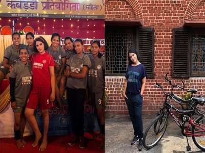 Panga: Richa's look as a Kabaddi player Meenu