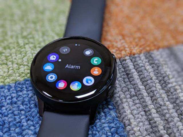 Amazon is offering a discount of up to $38 on Samsung Galaxy Watch Active