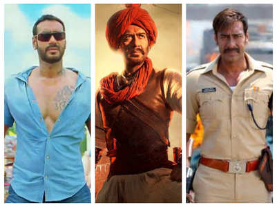 11 times Ajay Devgn hit a century at BO