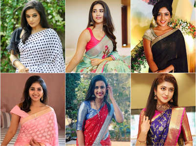 Tollywood actresses stunned in Indian wear