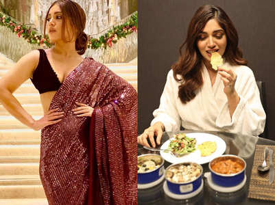 Bhumi Pednekar's plate is every Keto dieter's dream!