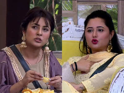 BB13: Shehnaz fights with Rashami Desai