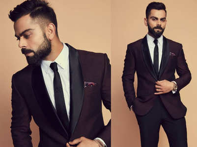 Virat Kohli proves he is the MOST stylish cricketer