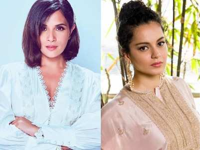 Richa: Kangana and I never talked politics