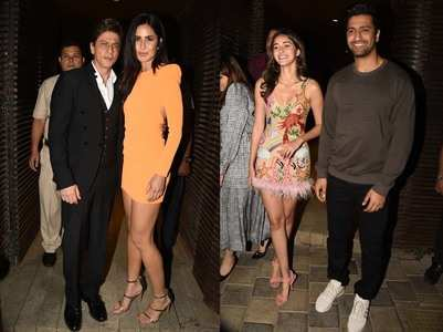 Celebs attend Ali Abbas Zafar's birthday bash