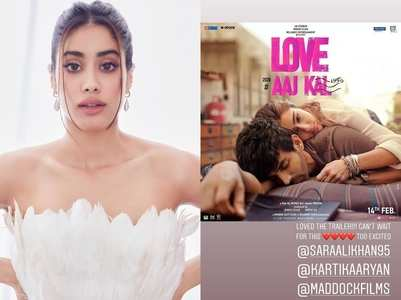 Janhvi can't wait for Sara's 'Love Aaj Kal'