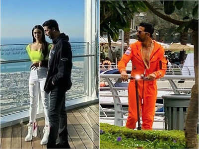 Pics: Akshay-Kiara on 'Laxmmi Bomb' sets