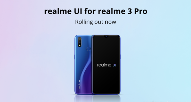 This is the first Realme smartphone to receive Android 10-based UI update