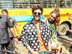 Kartik Aaryan just can't take his eyes off ex-ladylove Sara Ali Khan