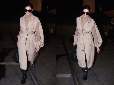 Pics: Deepika arrives in style at the airport