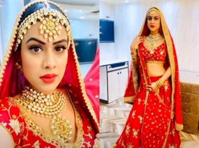 TV actresses who made for beautiful brides