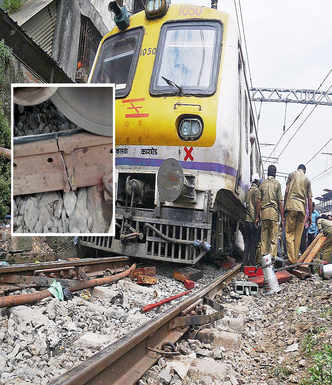 CR blames 'extreme weather', larger network for fractures