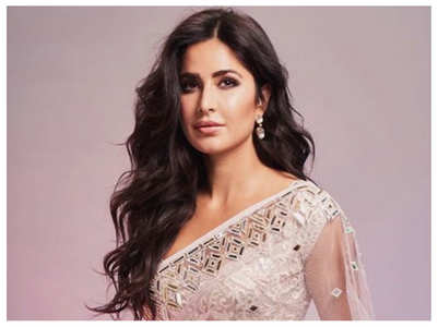 Katrina dolls up in a white dazzling saree