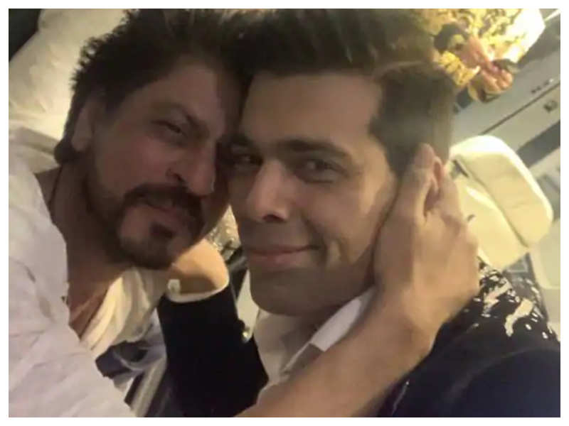 Shah Rukh Khan to collaborate with BFF Karan Johar for a mainstream film?