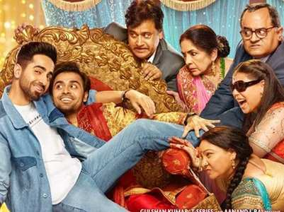 Ayushmann unveils the posters of 'SMZS'