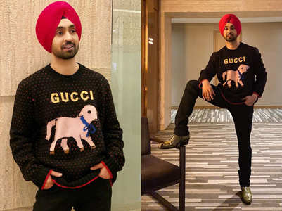 Diljit Dosanjh's lamb logo sweater is SO EXPENSIVE, it'll give you winter chills!