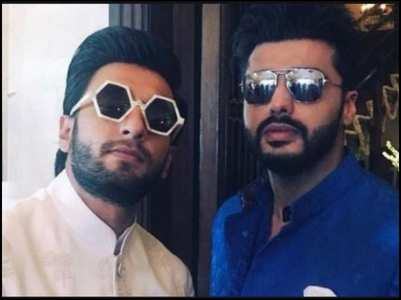 Ranveer goes aila on Arjun's post; here's why