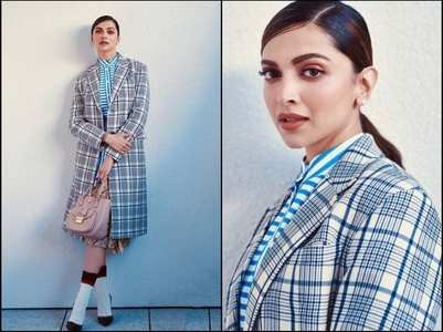 Pics: Deepika gives major school girl vibes