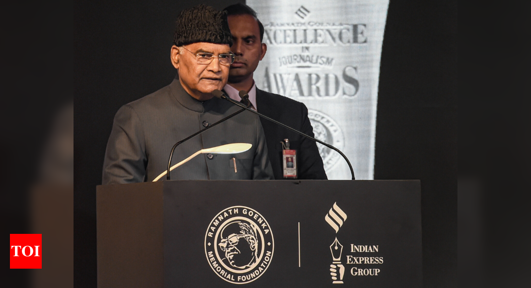 Journalism passing through 'critical phase'; fake news emerges as new menace: President