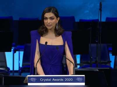 Videos: Deepika Padukone's speech WEF 2020