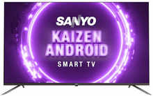 Sanyo 165 cm (65 inches) Kaizen Series 4K Ultra HD Smart Certified Android IPS LED TV XT-65A082U (Black) (2019 Model)