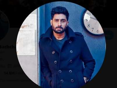 Abhishek Bachchan announces a surprise