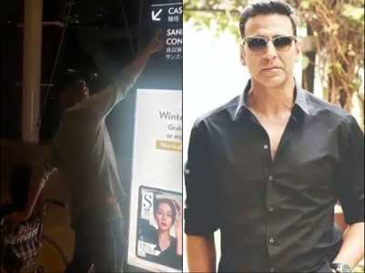 Video: Akshay celebrates his mother's birthday
