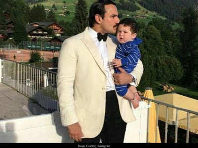 Saif's comment lands Taimur in controversy
