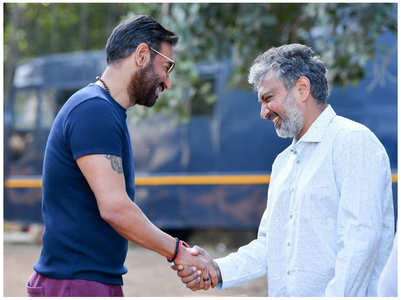 'RRR': Rajamouli on collaborating with Ajay