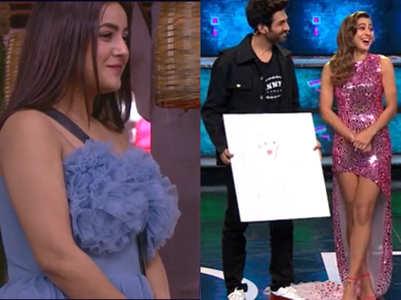 BB13: Kartik Aaryan fulfills Shehnaz' wish