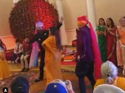 Mohena, Suyesh dance on London Thumakda