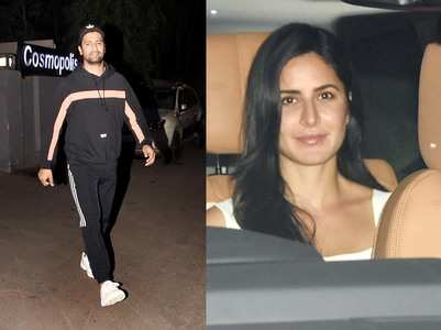 Pics: Vicky & rumoured GF Katrina gets snapped