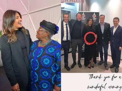PC shares pics from World Economic Forum