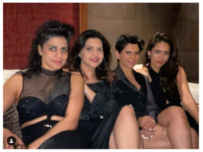 PIC: Mira parties hard with her friends