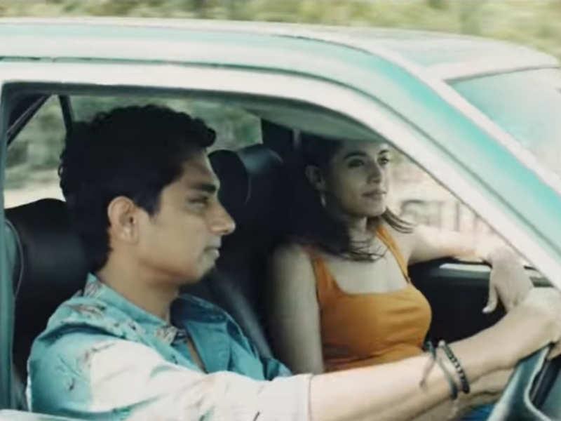 STR-Andrea's romantic song for Siddharth's 'Takkar'