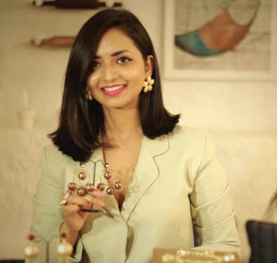 Jewellery designer Mrinalini Chandra talks about baubles and more
