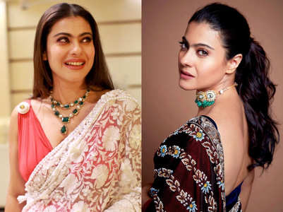 5 sari make-up ideas to steal from Kajol