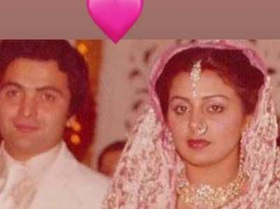 Rare wedding pictures of Rishi and Neetu