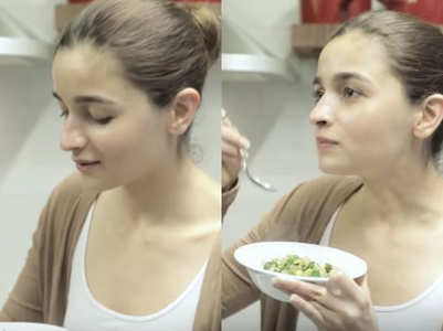 Alia Bhatt's recipe of zucchini subzi is a weight loss secret!