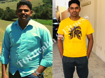 This guy lost 24 kilos with cardio!