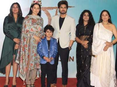 Celebs attend the screening of Kangana's Panga
