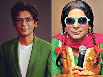 Sunil Grover : I just love becoming a woman