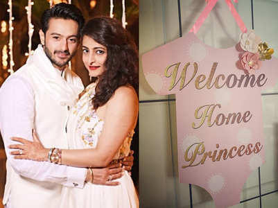 Dhruv, Shruti bring home their newborn