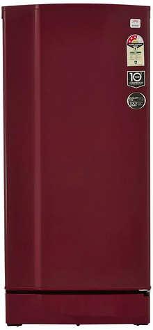 Godrej 200 L 3 Star Direct-Cool Single-Door Refrigerator (RD 2003 EW 3.2, Wine Red)